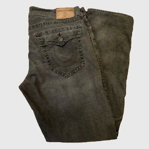 Men's True Religion Ricky Straight Corduroy Jeans